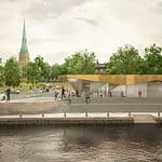 Västlänken, Haga station 2018 – 2021